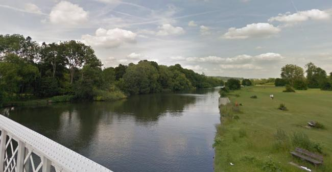 A man's body was retrieved from the River Thames - Picture: Google