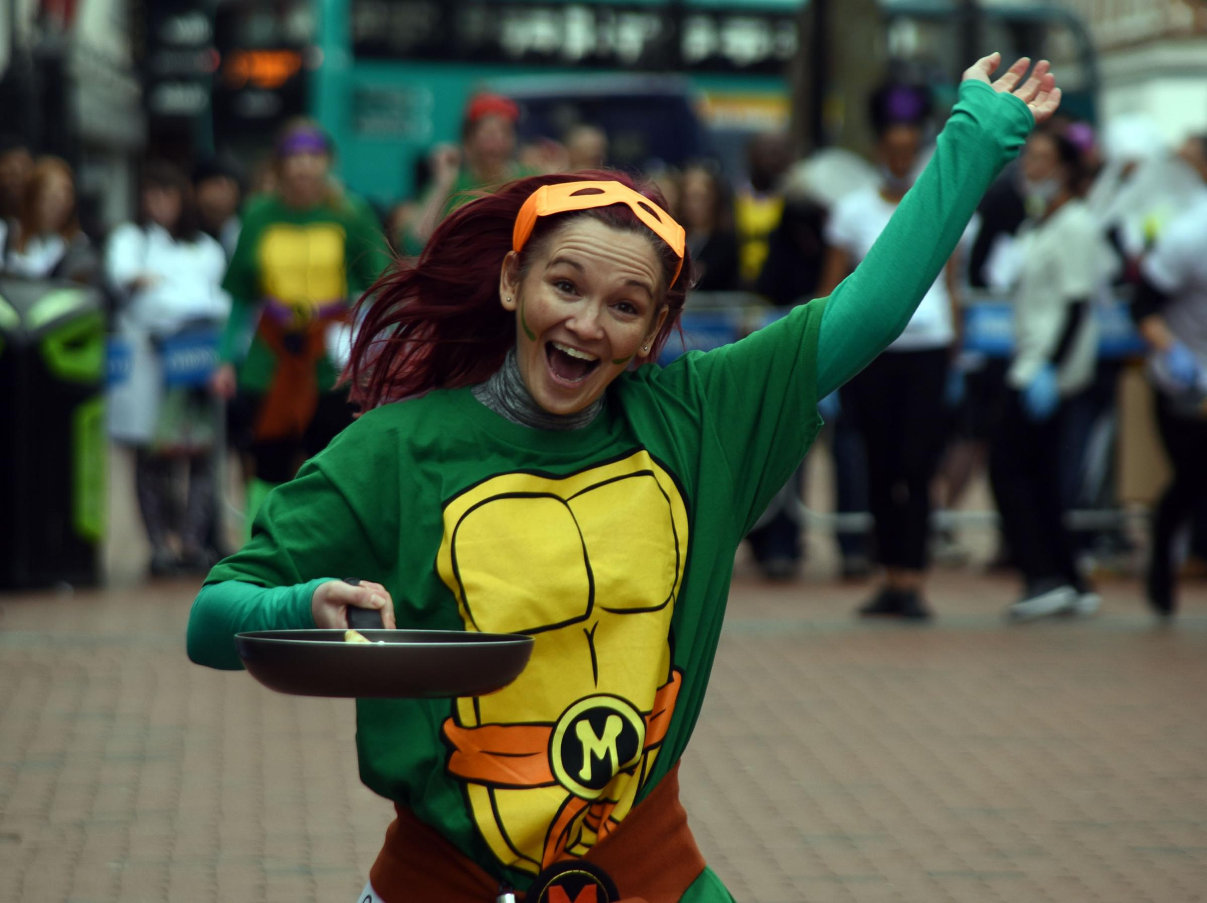 Are you EGG-cited for Reading's annual Pancake Race?