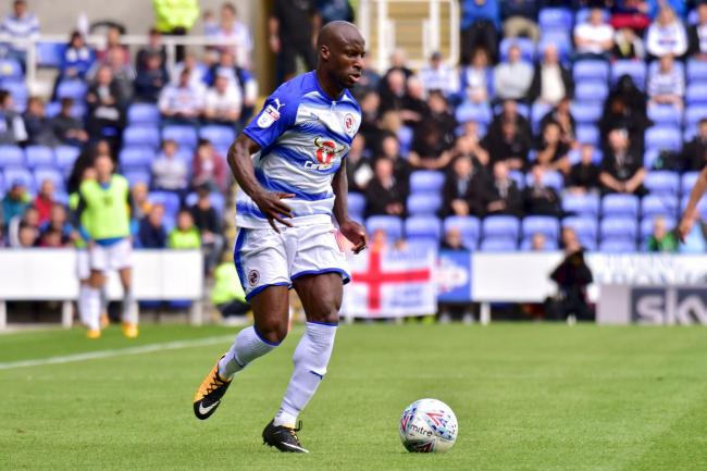 Sone Aluko scored in the second half as Reading lost at Derby County.