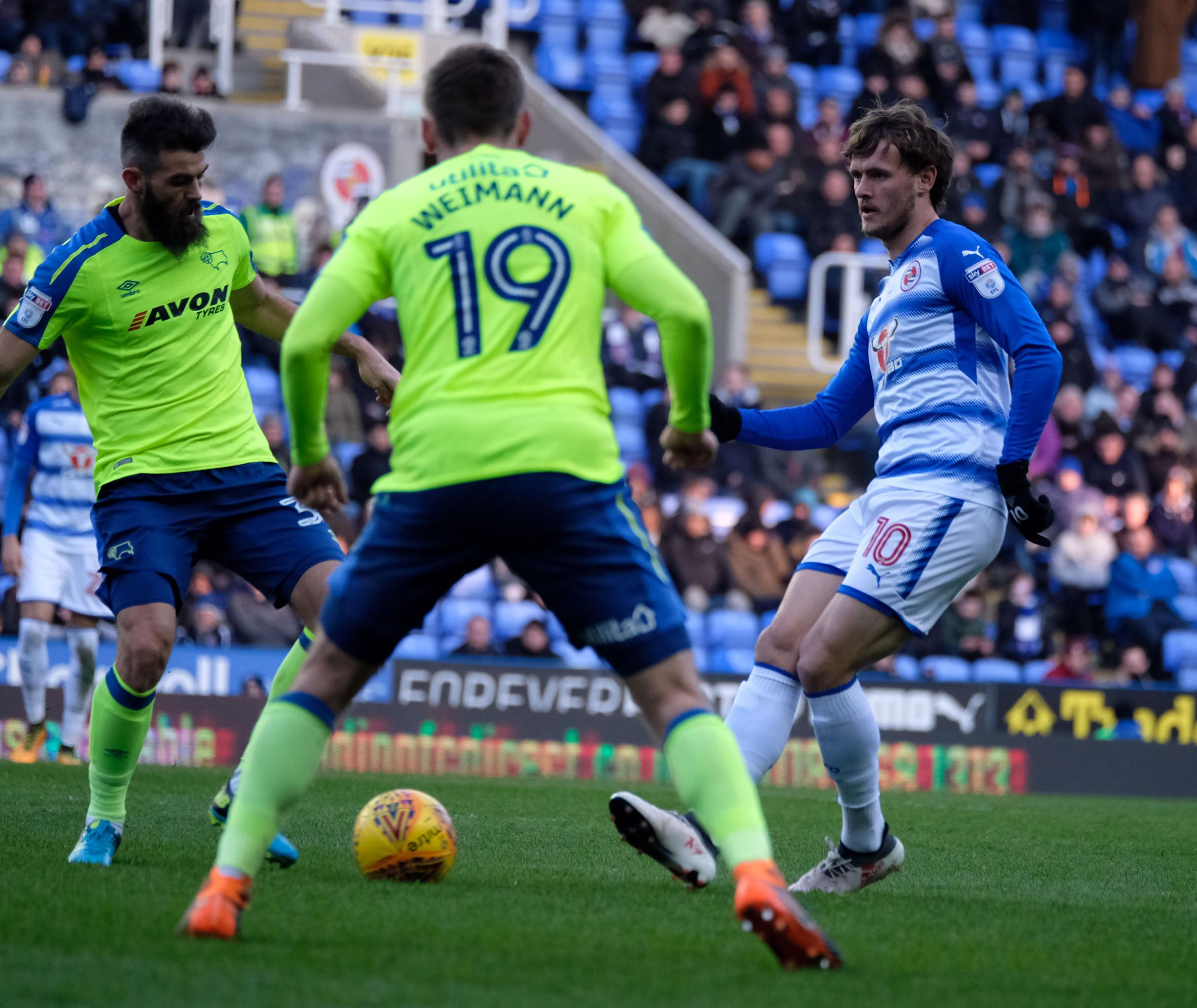 John Swift could be involved for Royals against Bolton tonight.