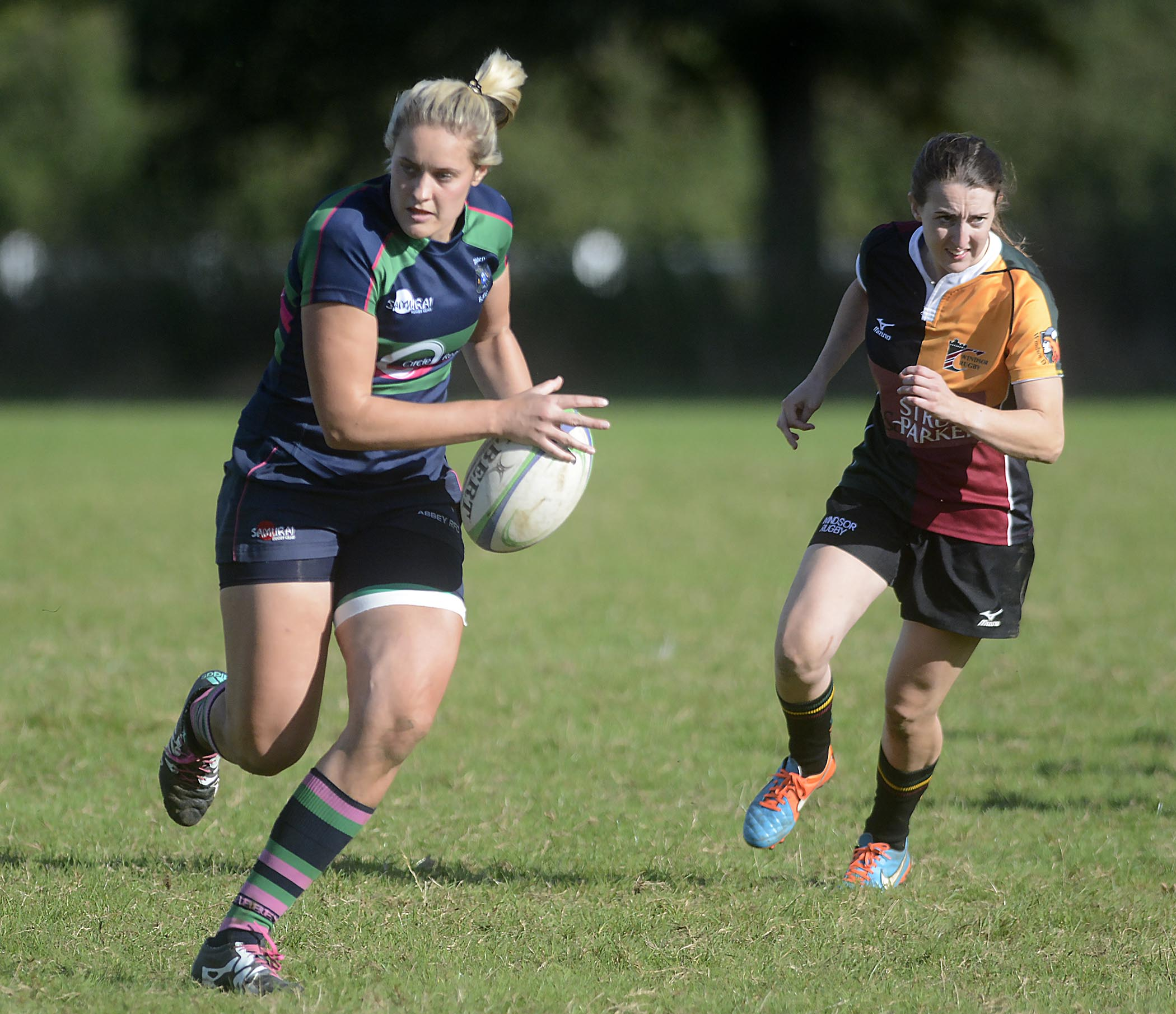 Alice Denton was among the Reading Abbey Ladies try scorers