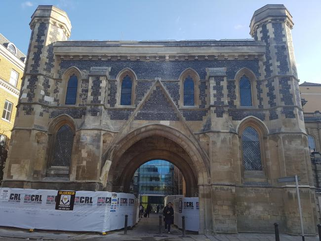 Abbey restoration project reaches new milestone with Gateway unveiling