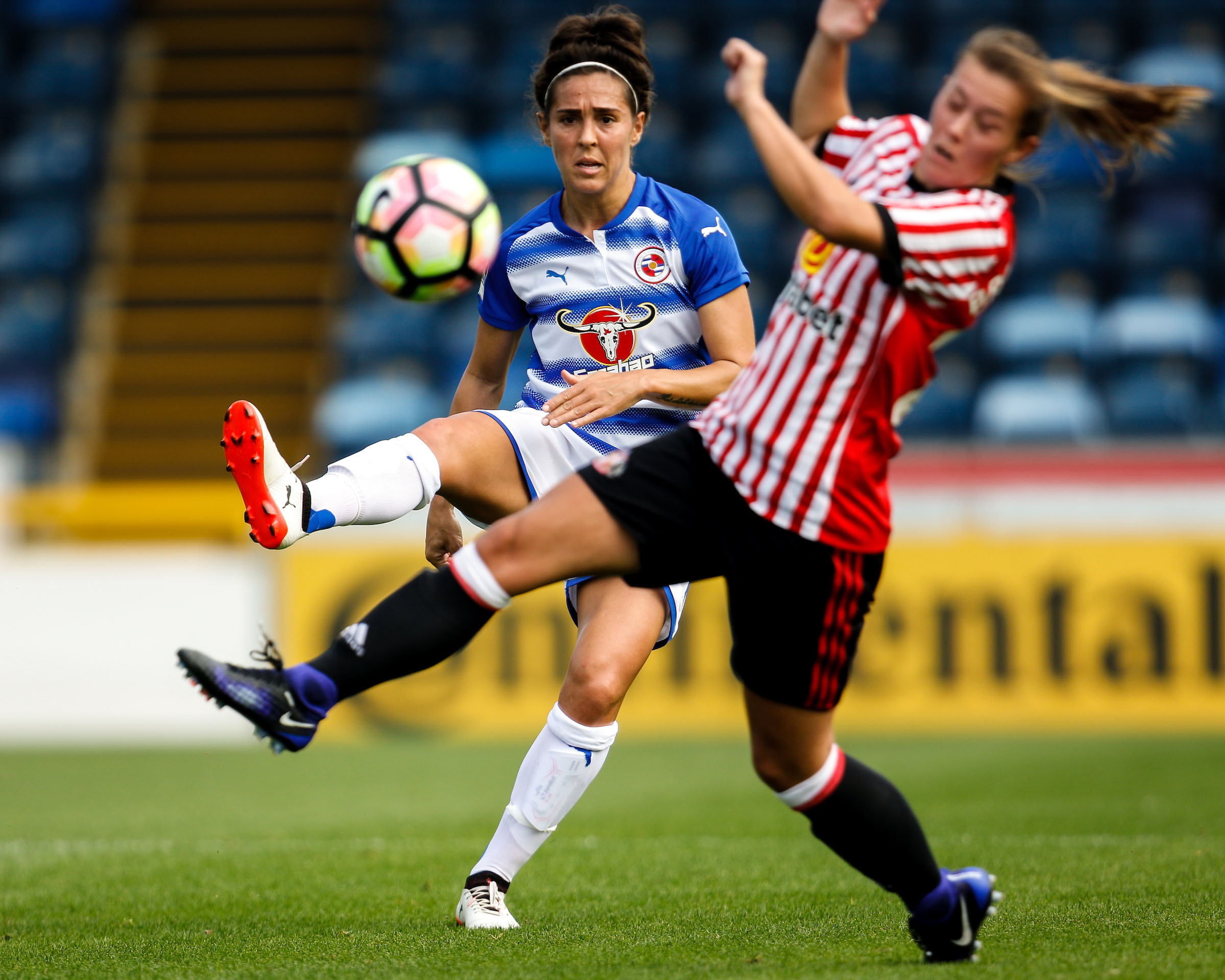 Fara Williams was on target in the win against Sunderland Ladies.