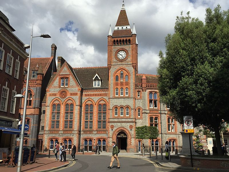 The inquest was held at Reading Town Hall