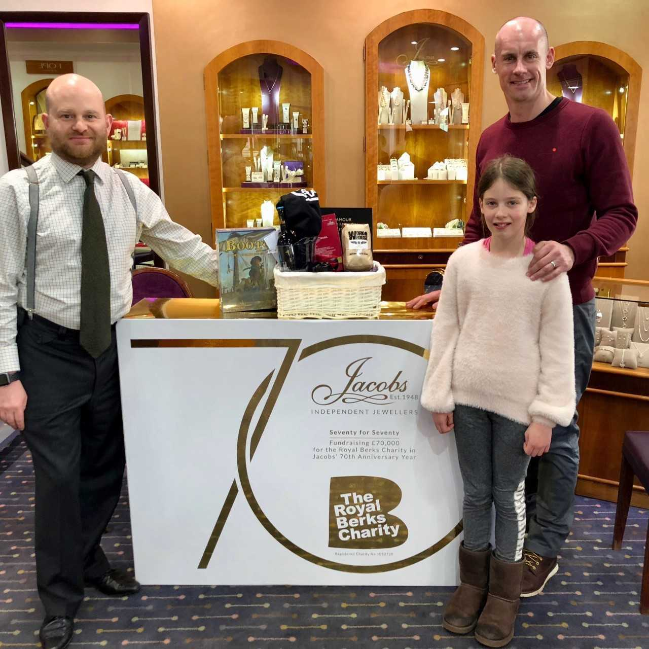 Jewellers aim to raise £70,000 for Royal Berks