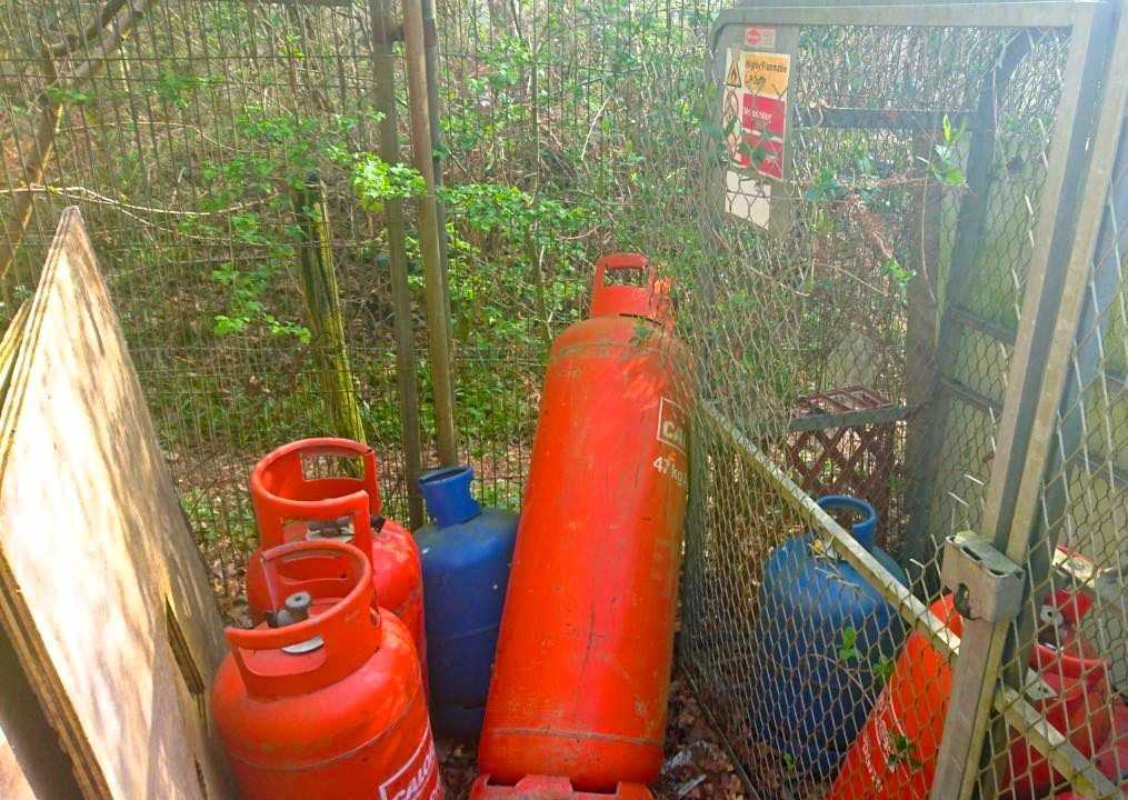 Six gas canisters were taken from Loddon Explorers
