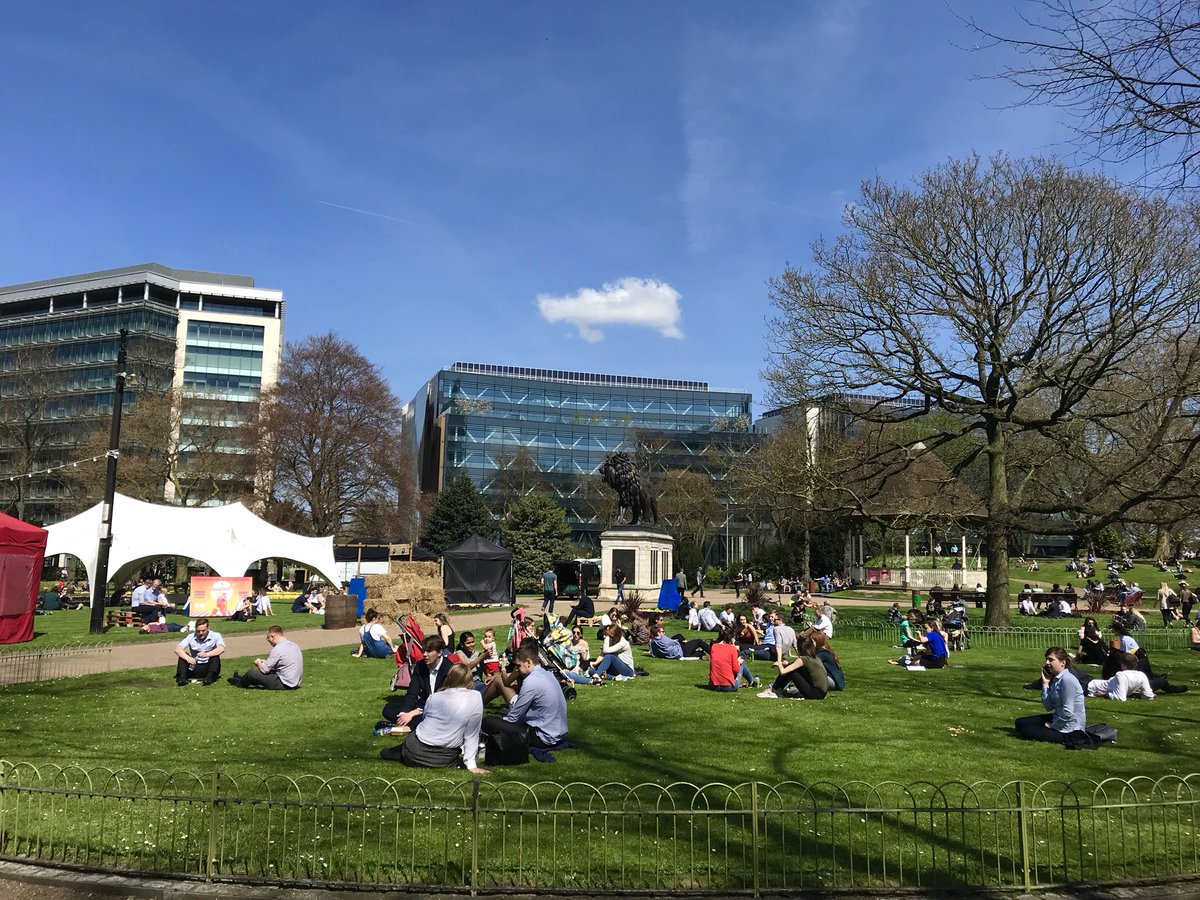 OFFICIAL: Today is the hottest day in April EVER recorded in Reading