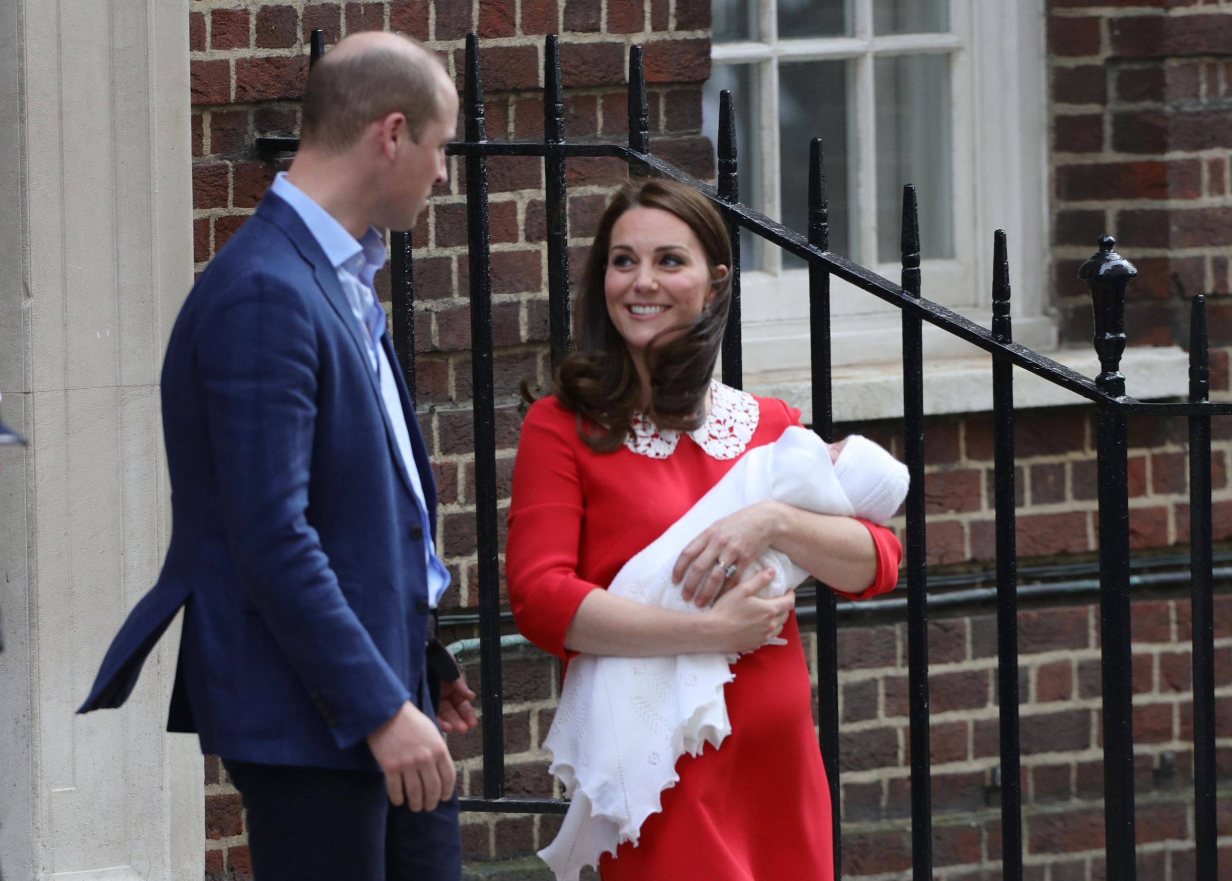 IT'S A BOY! The Duchess of Cambridge gives birth to third child