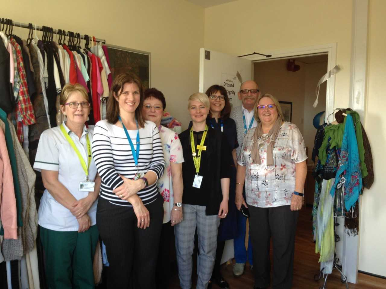 Royal Berkshire Hospital launches Dress for Dignity scheme