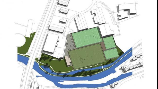 Plans for new 3G football pitches