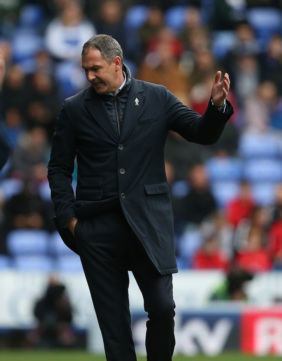 Paul Clement shows his frustrations on the sidelined during the 4-0 defeat to Ipswich. Pictures: Jason Dawson/jasonpix.