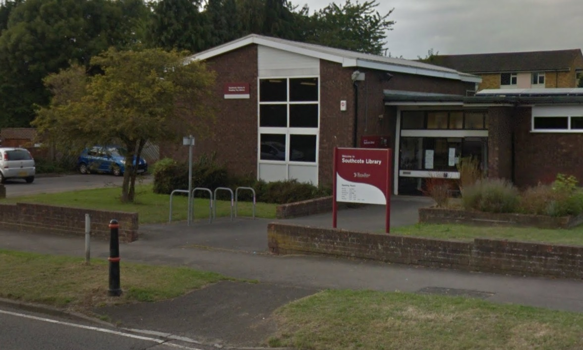 Southcote Library will form part of the new centre - Picture: Google