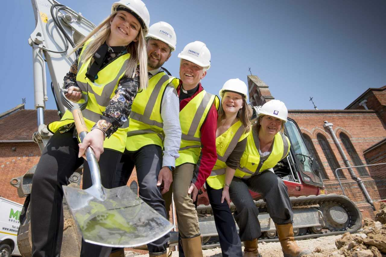 Work starts on innovative affordable housing scheme that's funding St George's new community hub