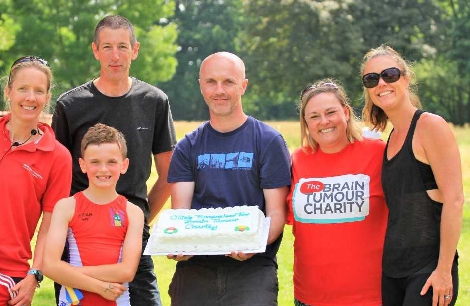 Oliver Shears raised more than £3,000 with his sporting challenge