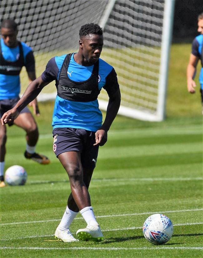 Reading FC: Andy Yiadom relishing battle with Chris Gunter for first-team spot