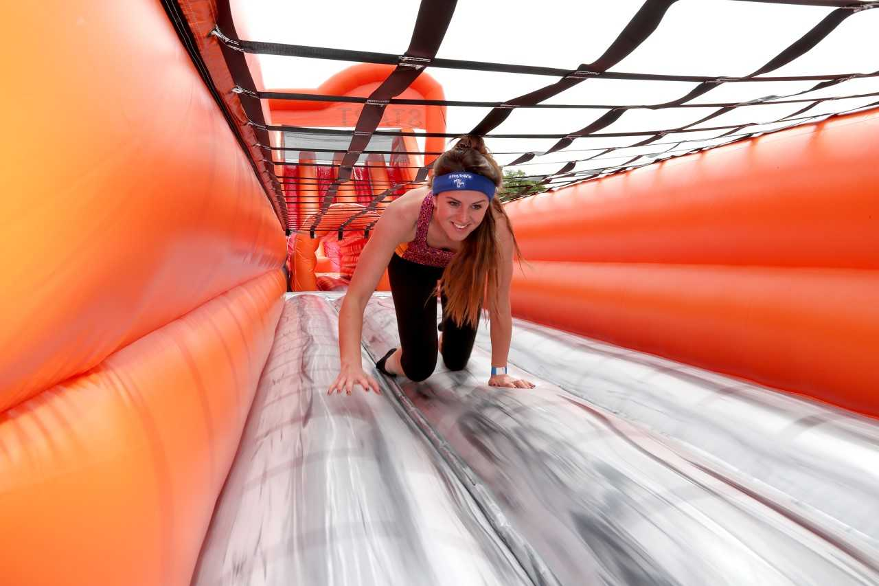 WATCH: World's longest inflatable assault course set to return to Reading