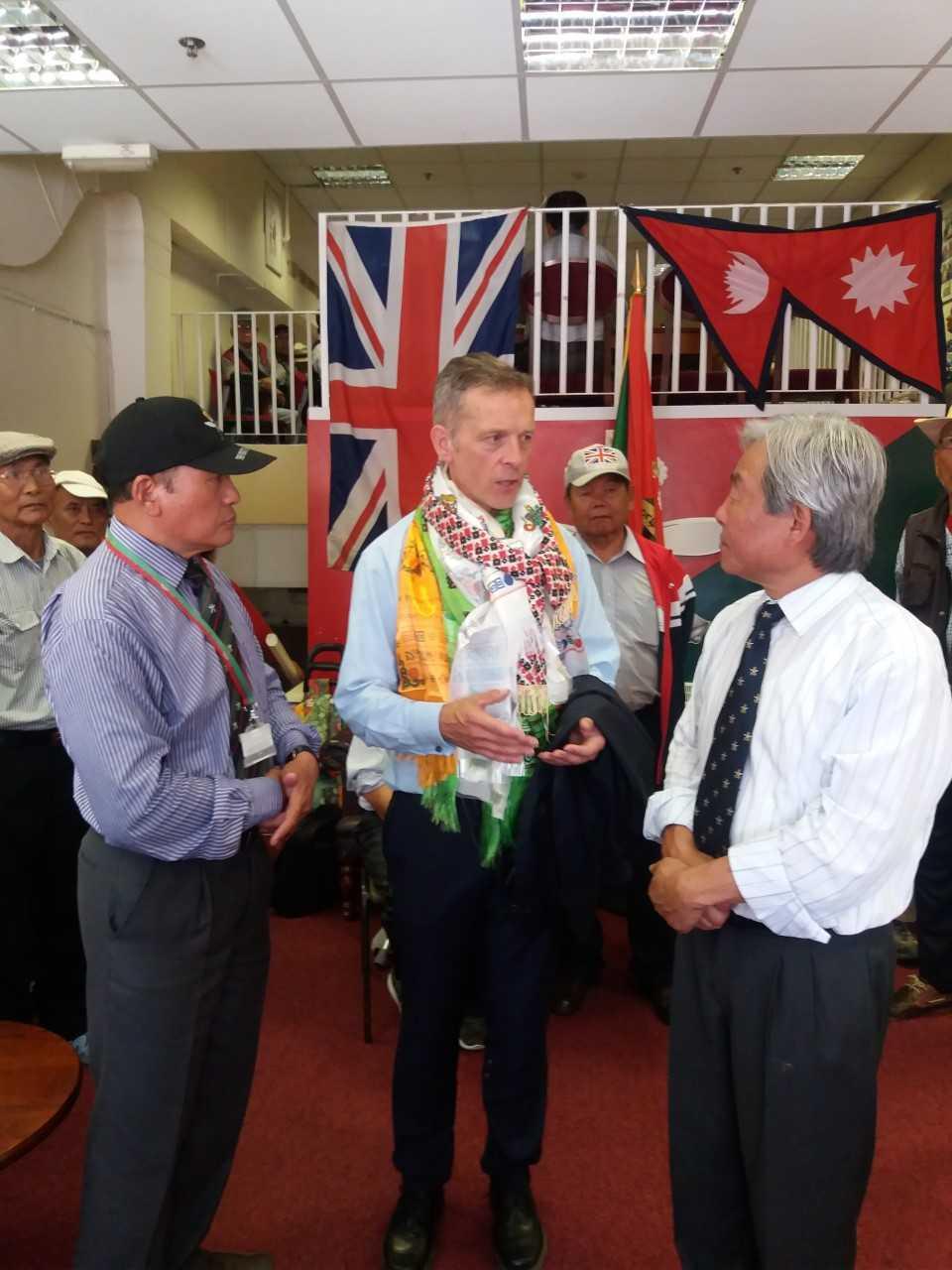 MP gives support to Gurkha community