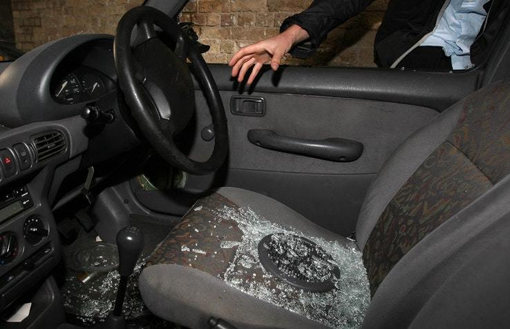 Surge in car thefts