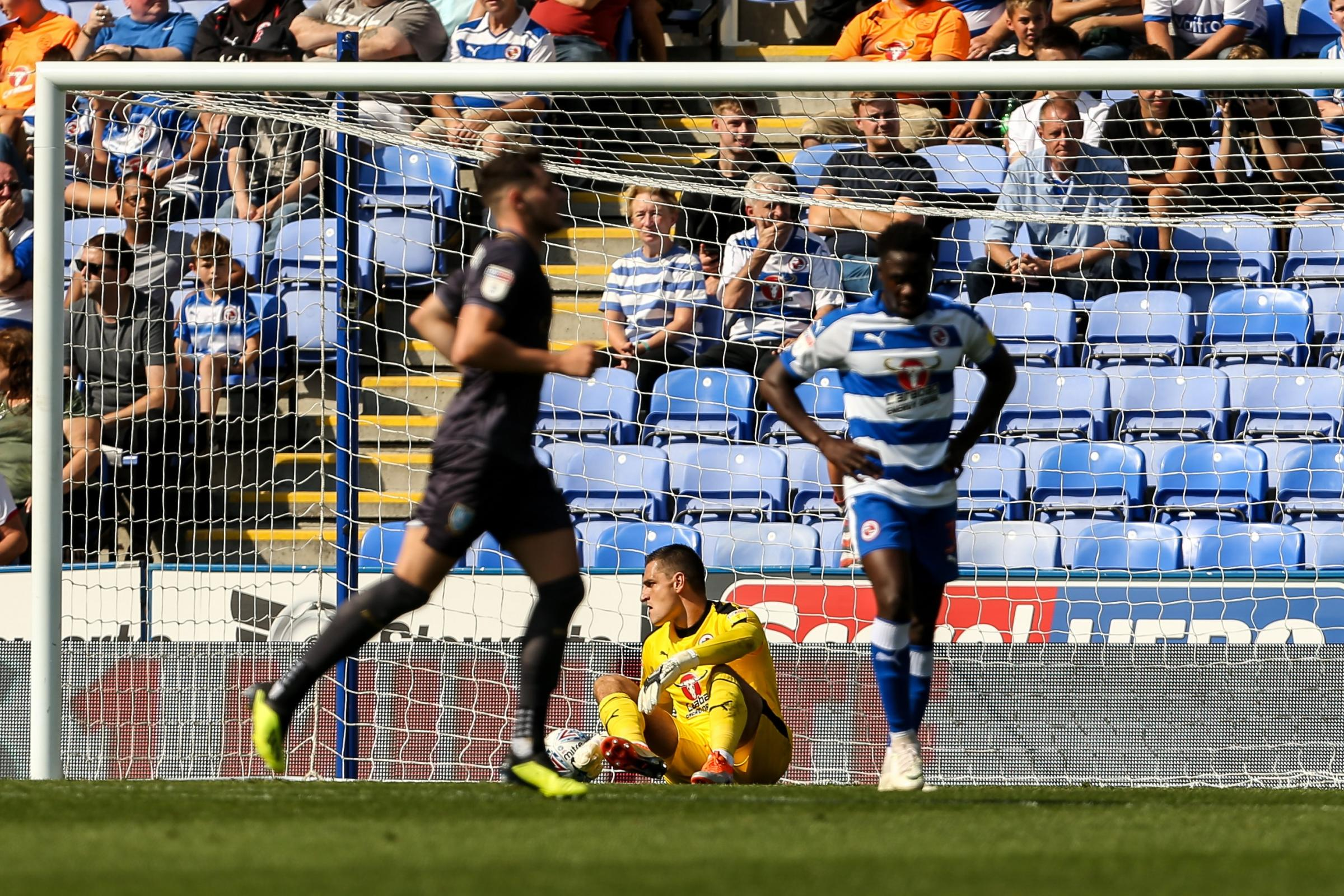 Lucas Joao fired Sheffield Wednesday into a 2-0 lead against Reading. Pictures: Jason Dawson