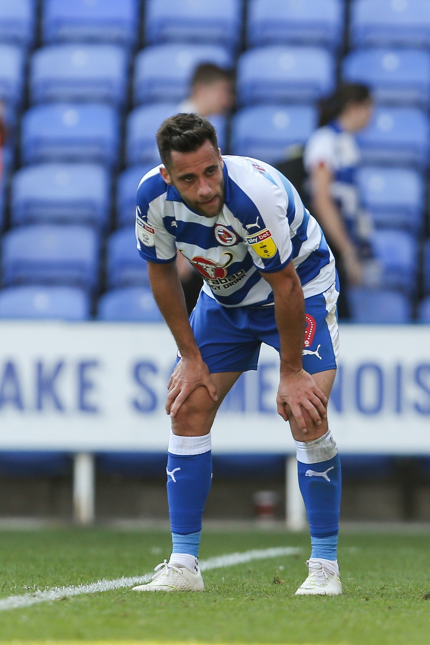 Sam Baldock notched his fifth goal of the season, but Reading had to settle for a point.