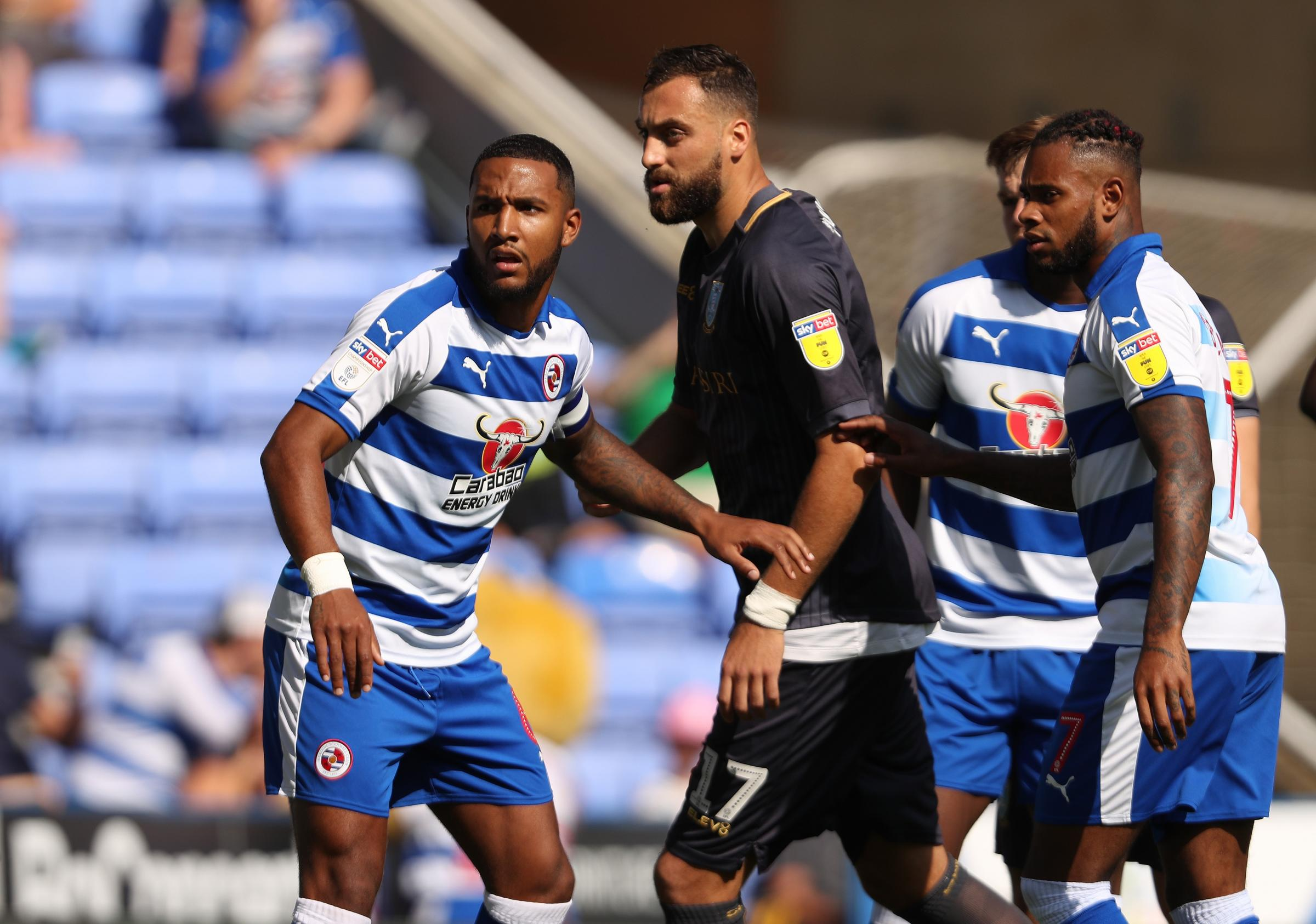 Reading skipper Liam Moore will be charged with keeping Wigan at bay.
