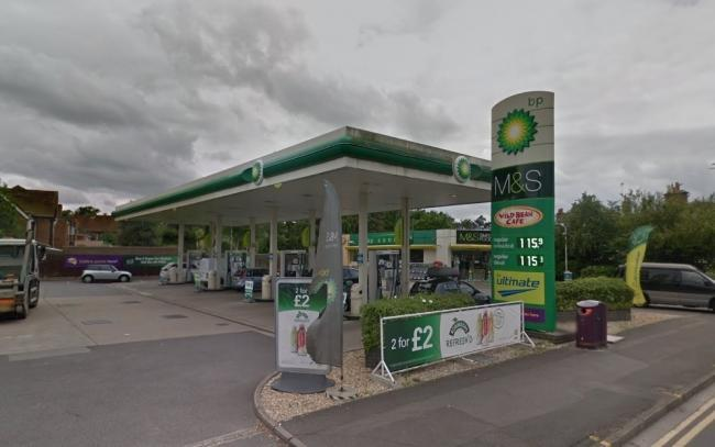 The petrol station in Wokingham Road. Picture: Google Maps