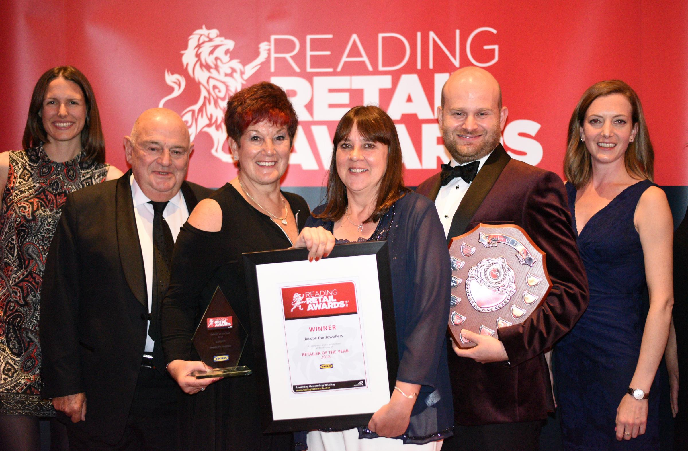 Reading Retail Awards 2018: The jewel in Reading's retail crown
