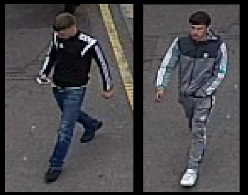 CCTV images released in aggravated theft investigation