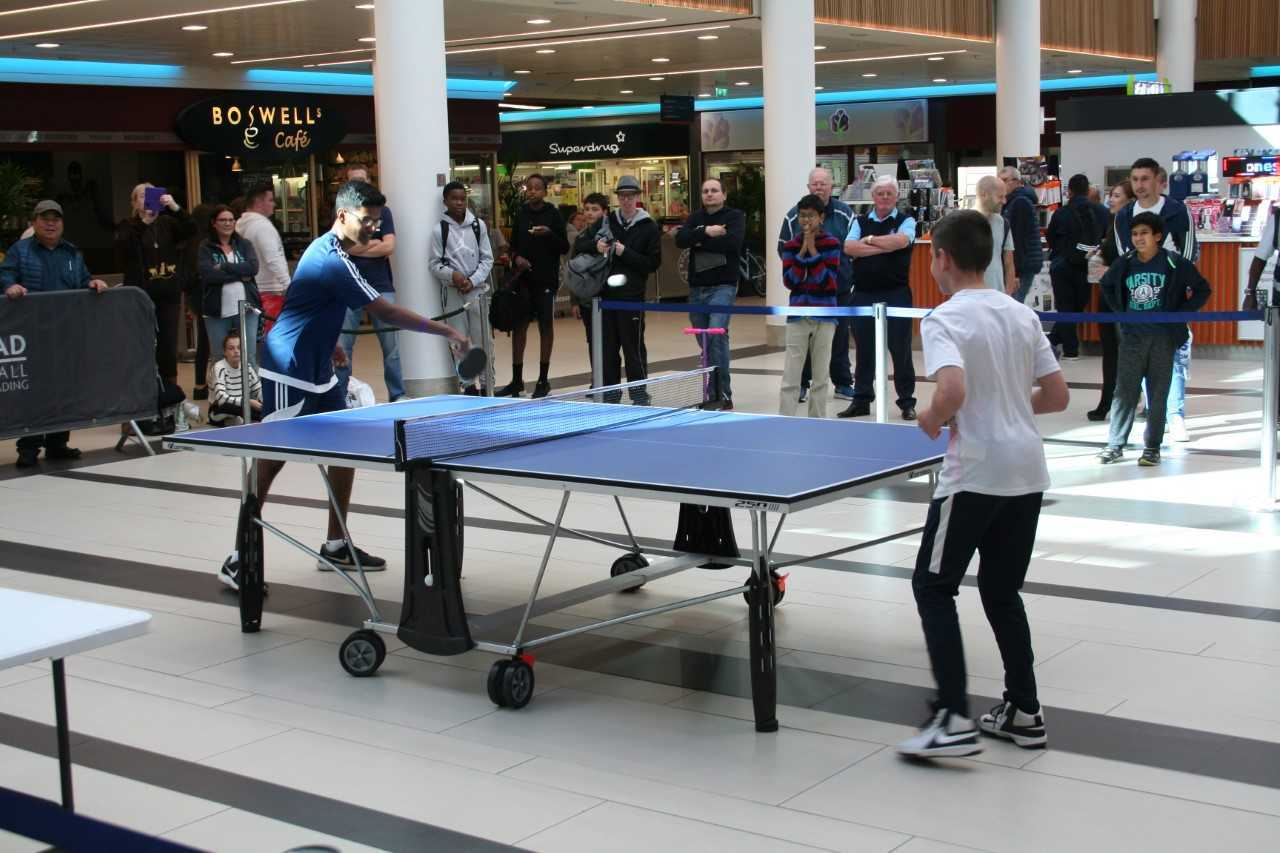 Table tennis tournament proves to be a big success