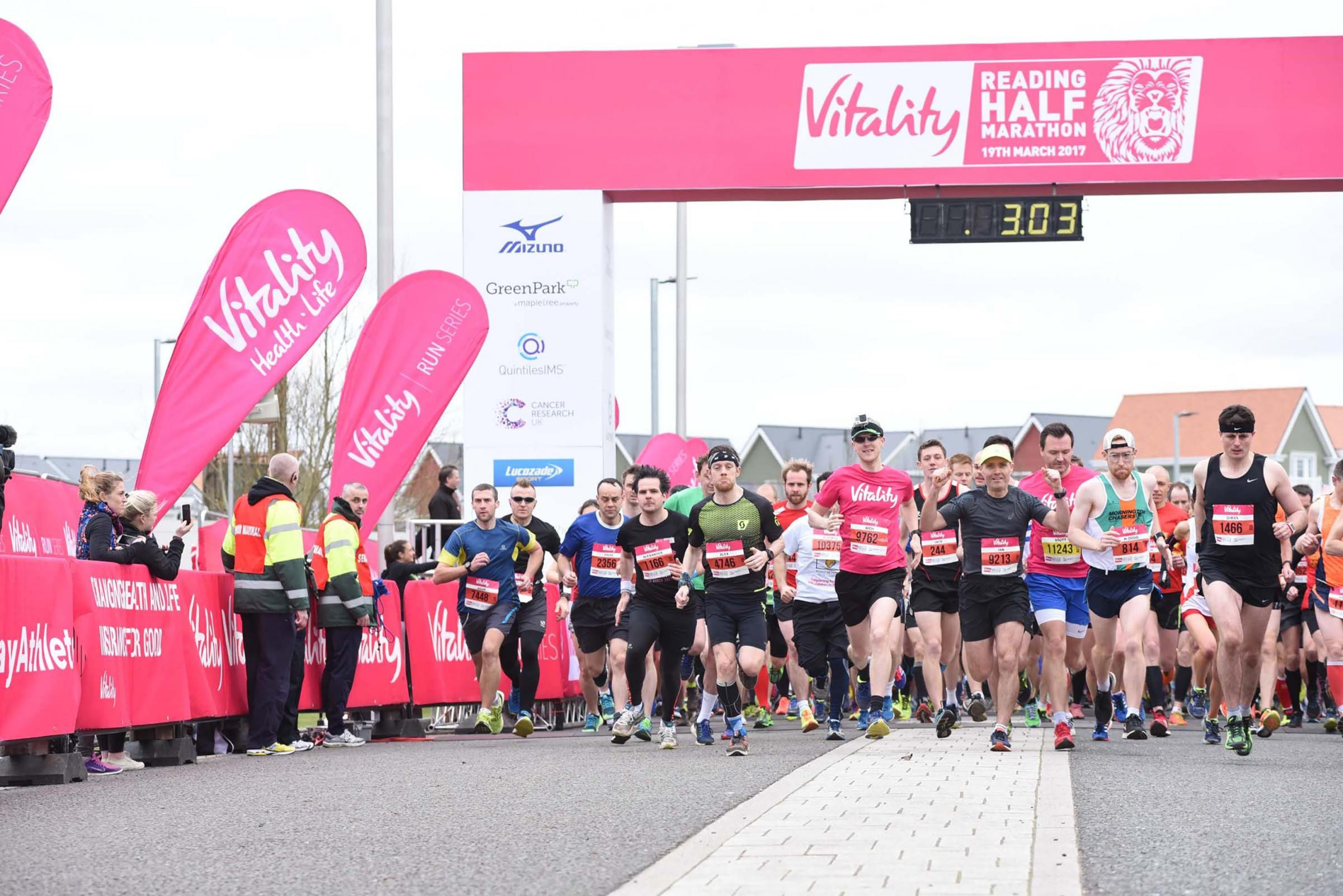 170363.Reading Half Marathon, Madejski Stadium, Reading.Picture by Nick Parford...
