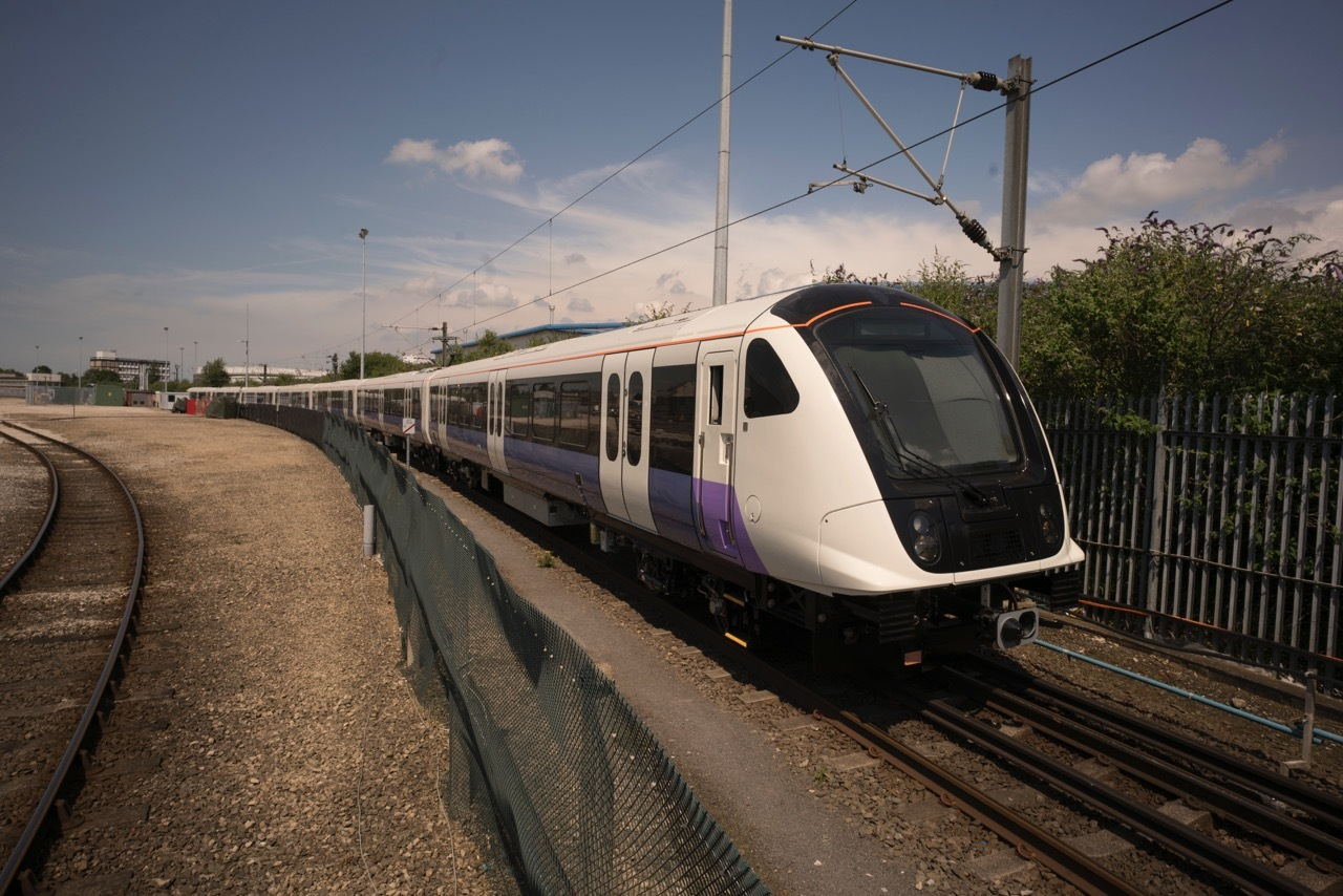 The new Elizabeth Line (Crossrail) train. Photo: Transport for London.