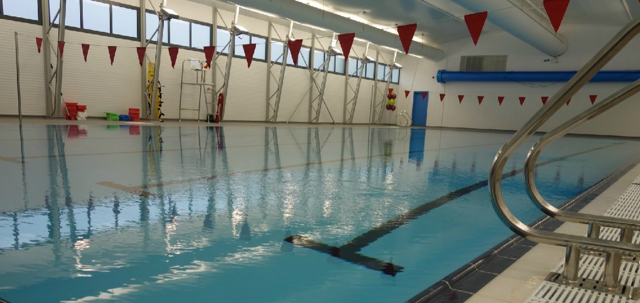 Rivermead's demountable pool will be out of action for maintenance
