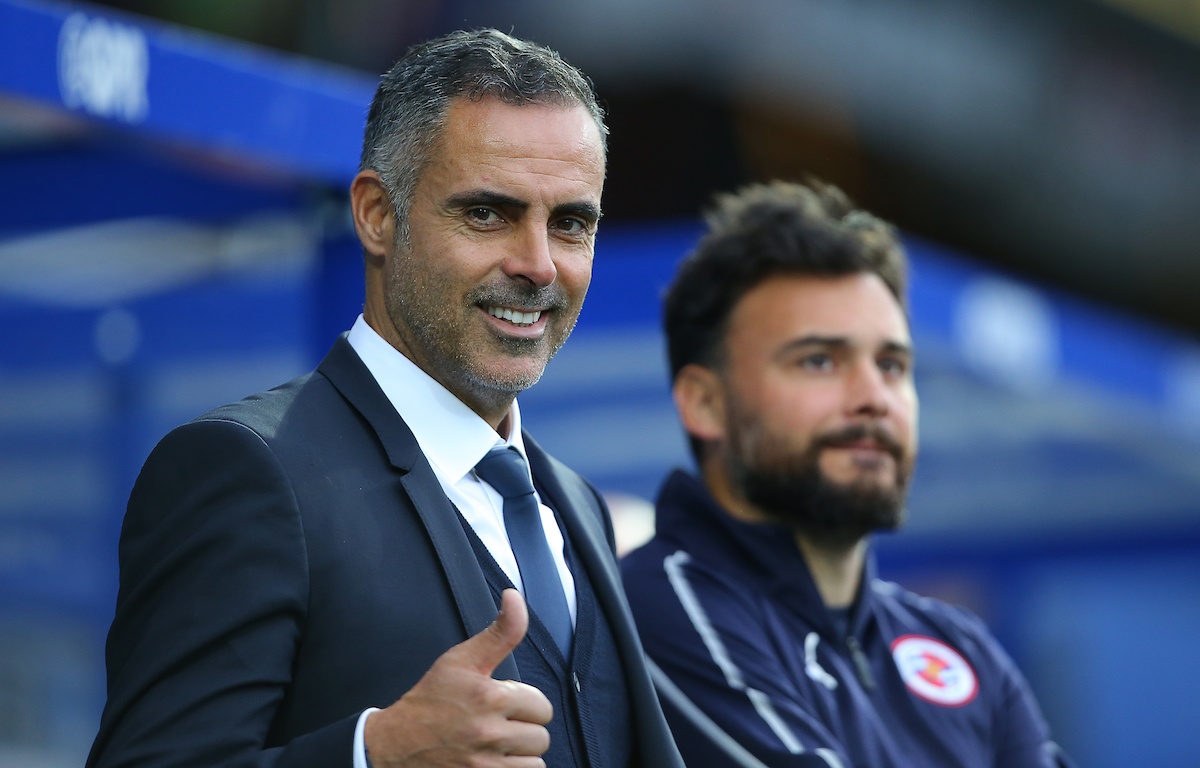 Reading boss, Jose Gomes.