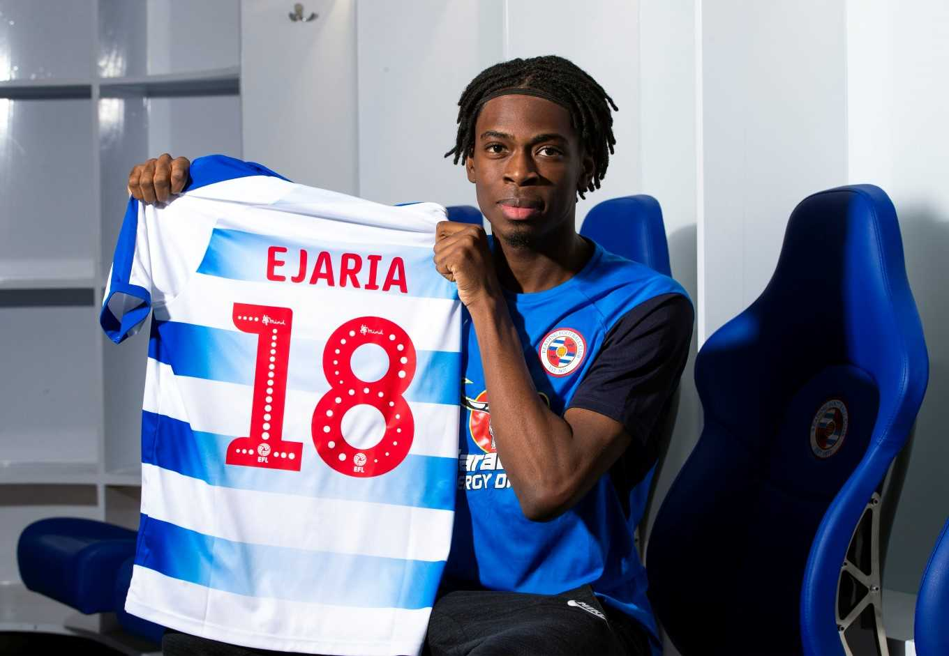 Ovie Ejaria has joined Reading on loan from Liverpool.