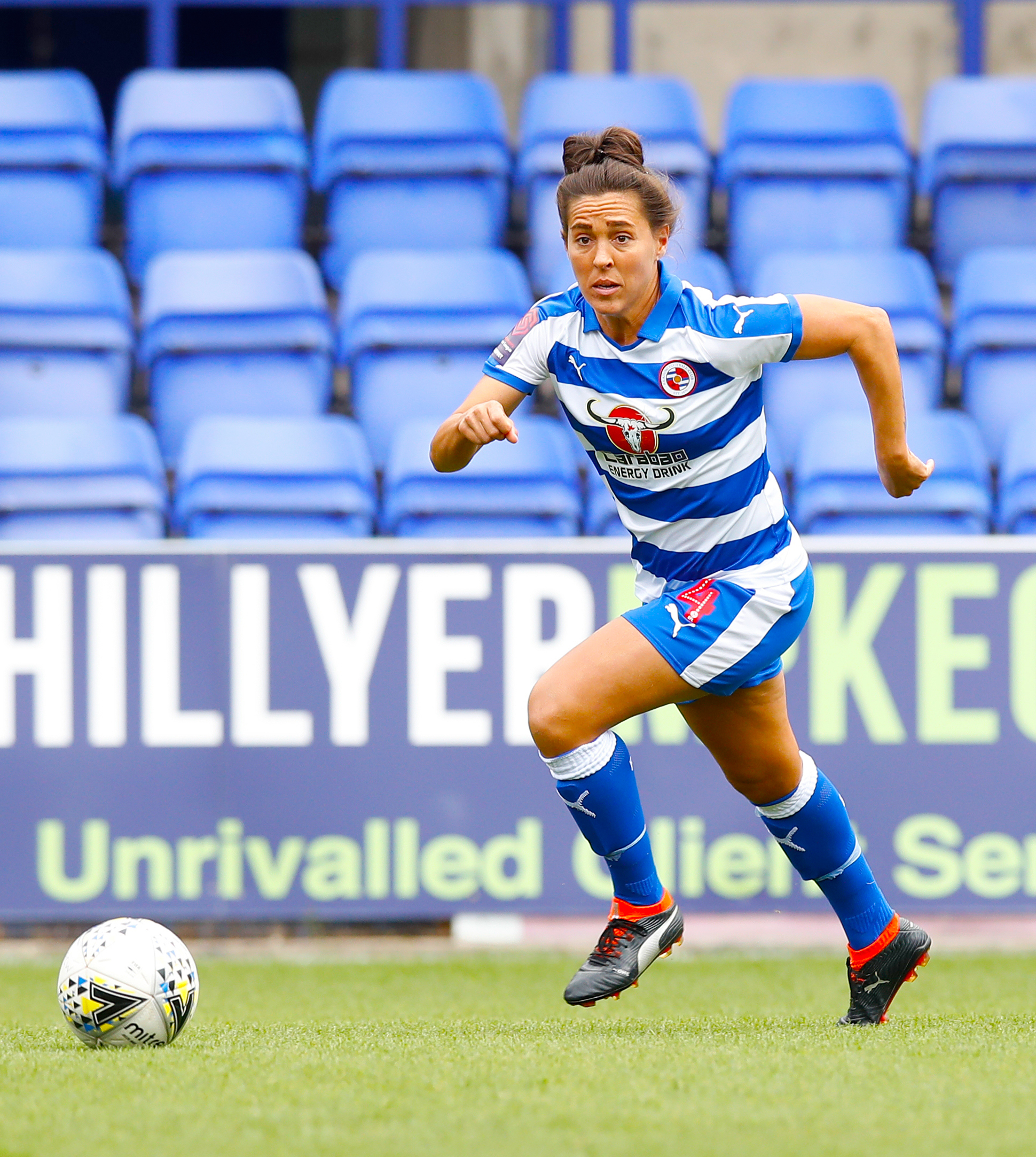 Reading's Fara Williams hit the woodwork against Arsenal.
