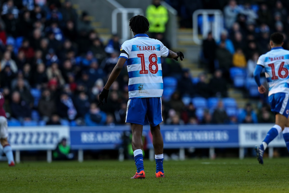 Ovie Ejaria takes the plaudits as Reading FC match Aston Villa in goalless draw