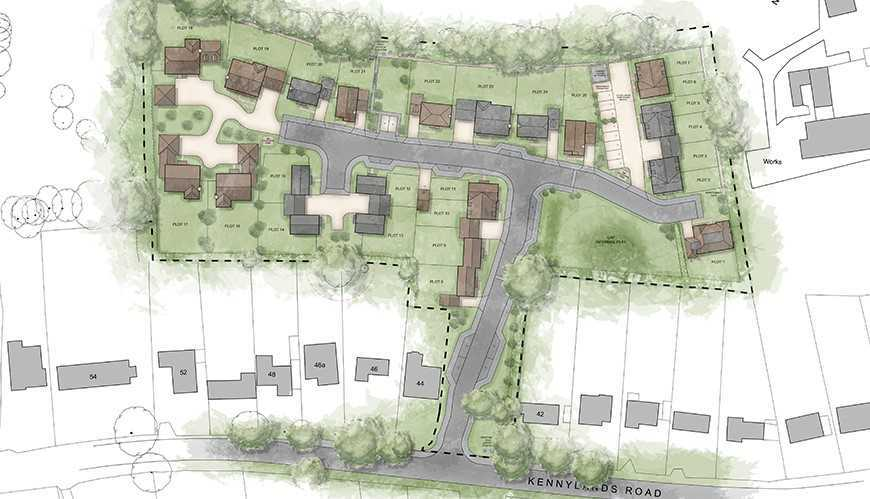 Permission for 25 new homes in Sonning Common