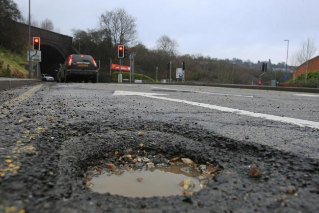 Pothole repair schemes continue across the county