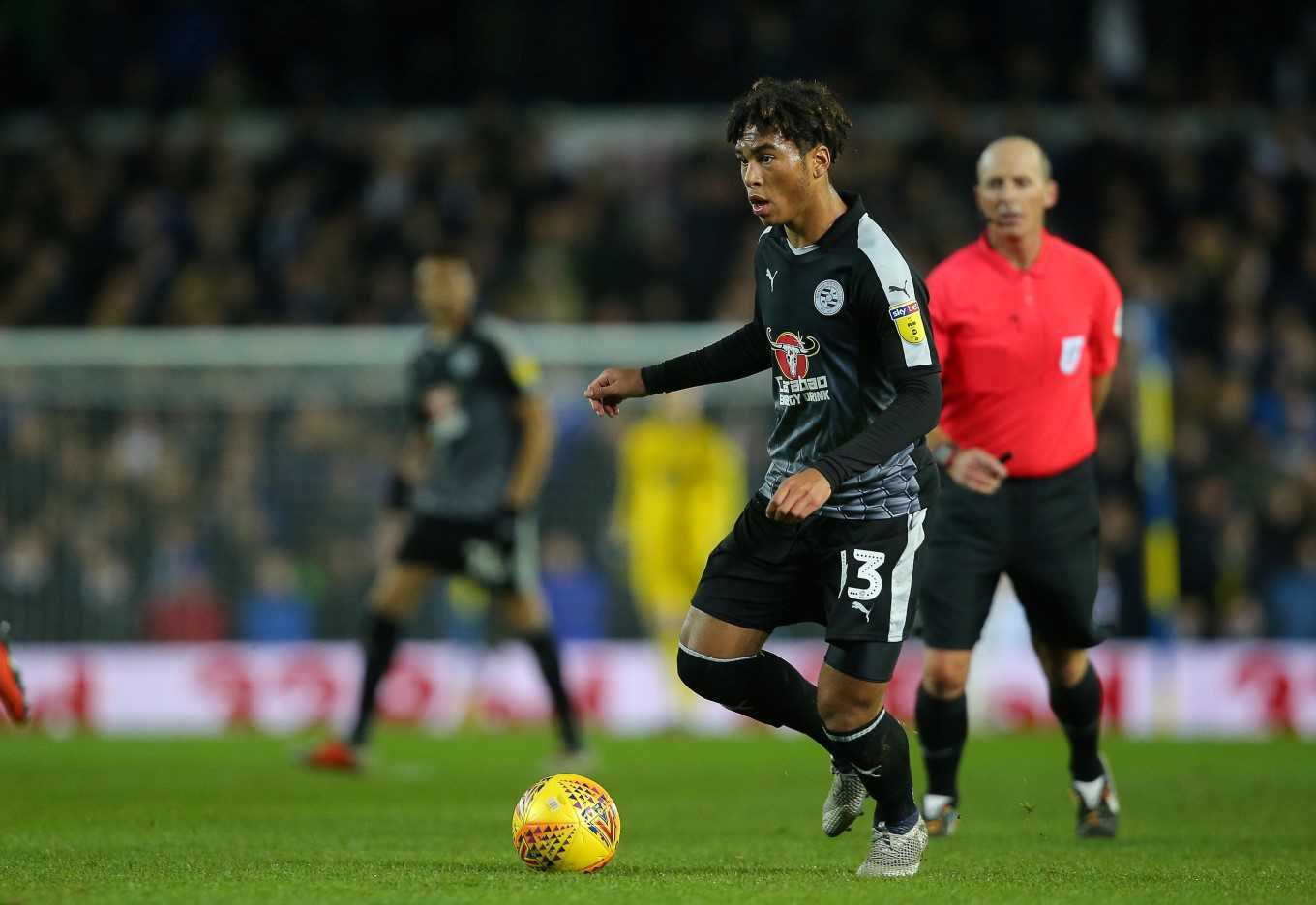 Danny Loader grabbed a hat trick against Manchester United U23s.