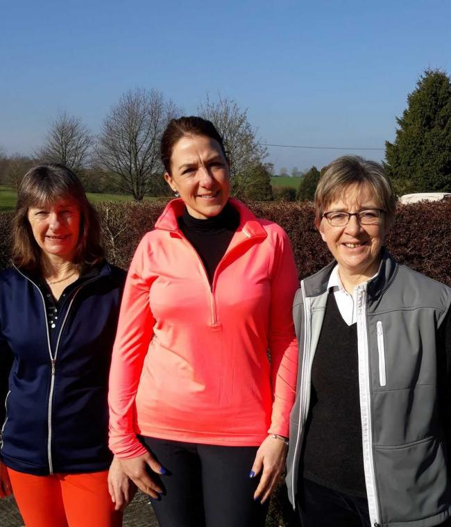 Tina Mulford, Jane Brackenbury and Gale McAuley