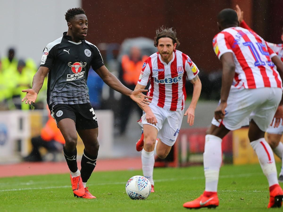 How Ghanaian defender Andy Yiadom helped three travelling Reading supporters who forget their match tickets against Stoke City