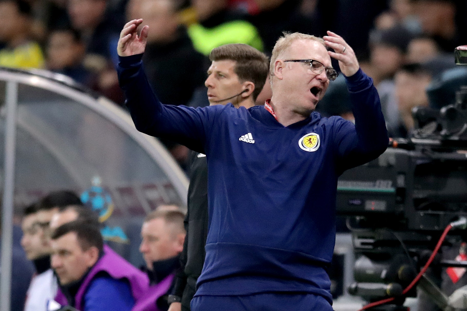 Alex McLeish stressed that his Scotland players are