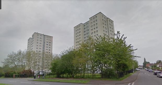 Coley High Rise Tower Blocks
