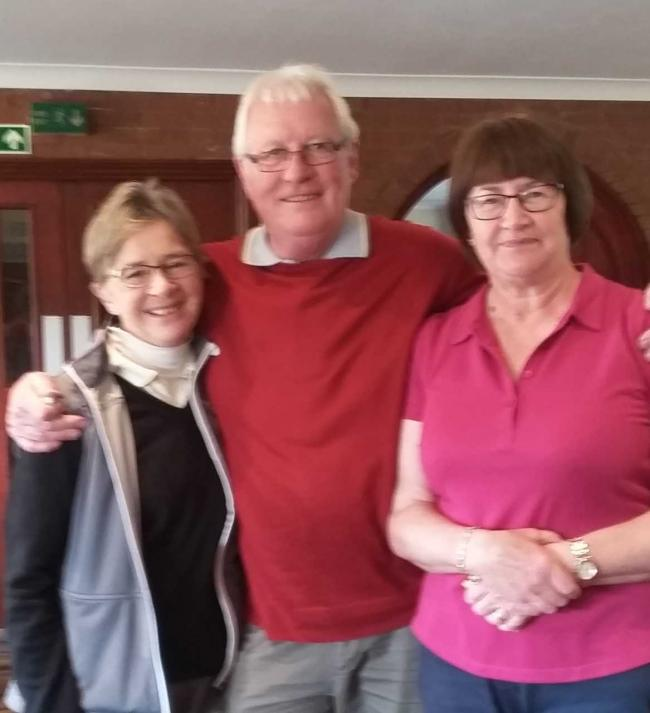 Gale McAuley, Mike Sparvell and Jane Wilmore