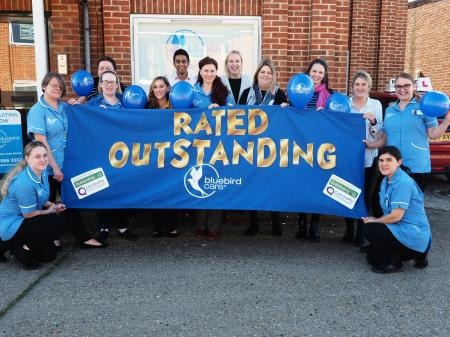 The care provider was rated as outstanding by the CQC