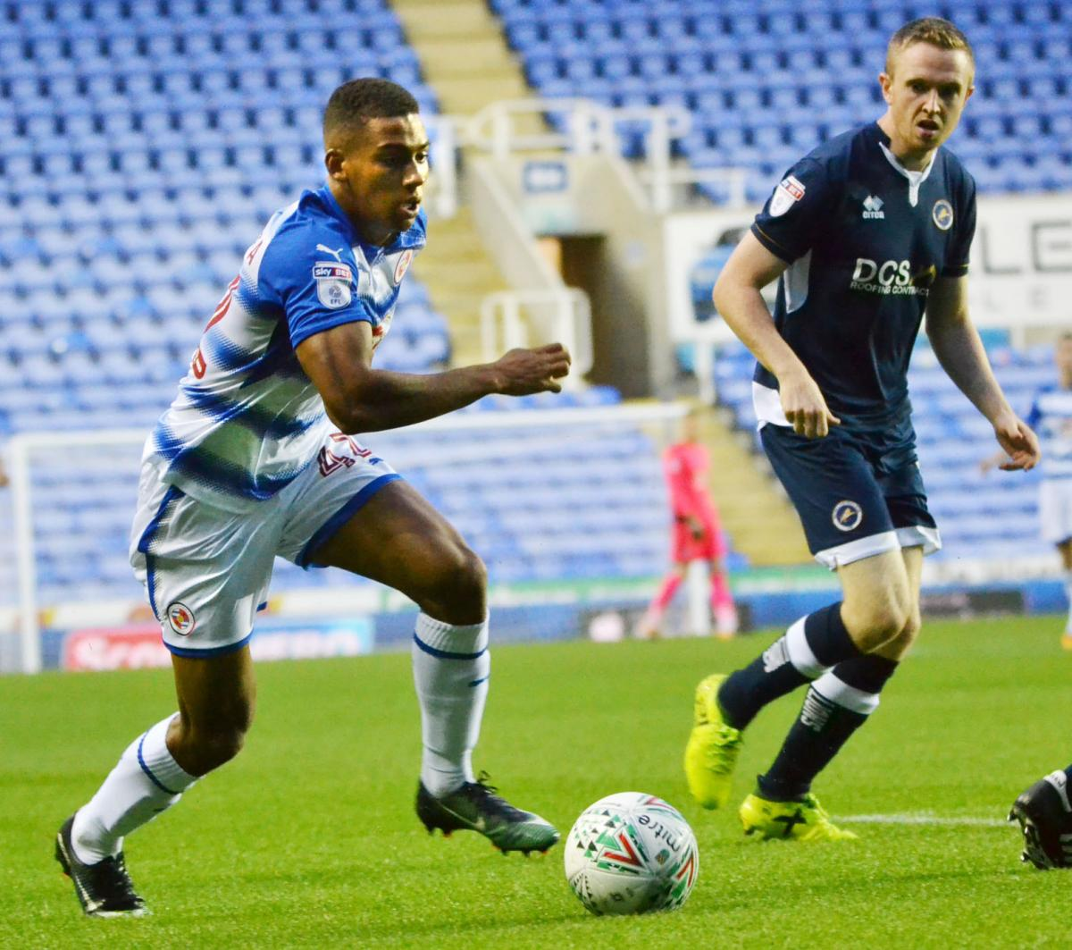 READING FC: Andy Rinomhota bags an injury-time equaliser as