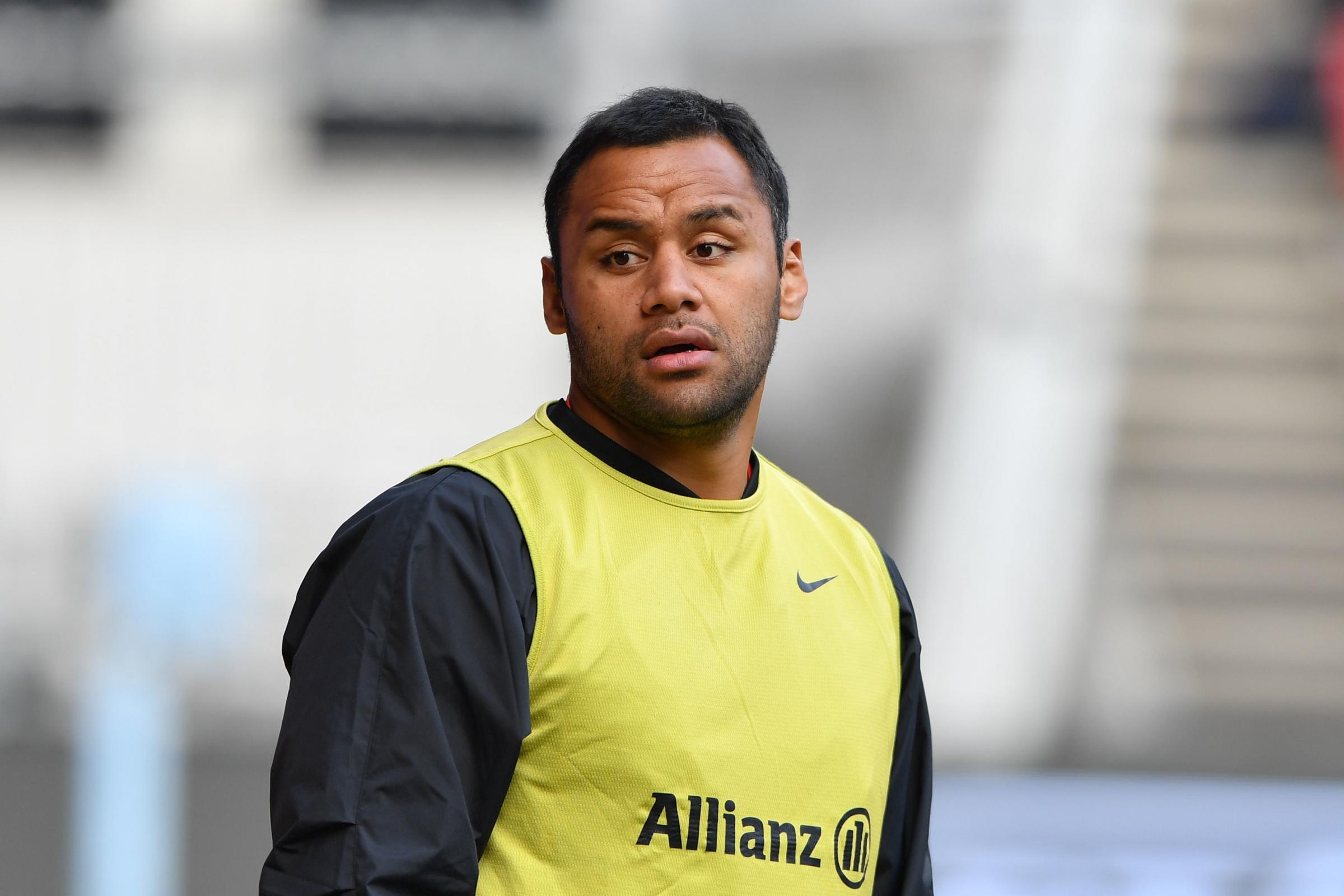 Billy Vunipola has been formally warned by Saracens