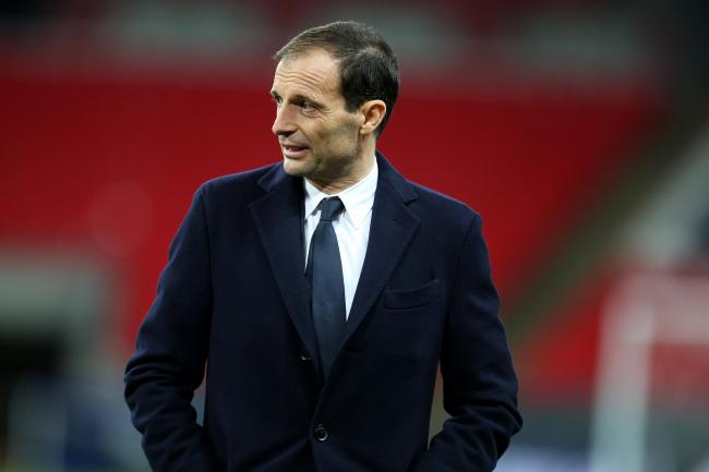 Juventus coach Massimiliano Allegri will be without his skipper Giorgio Chiellini against Ajax