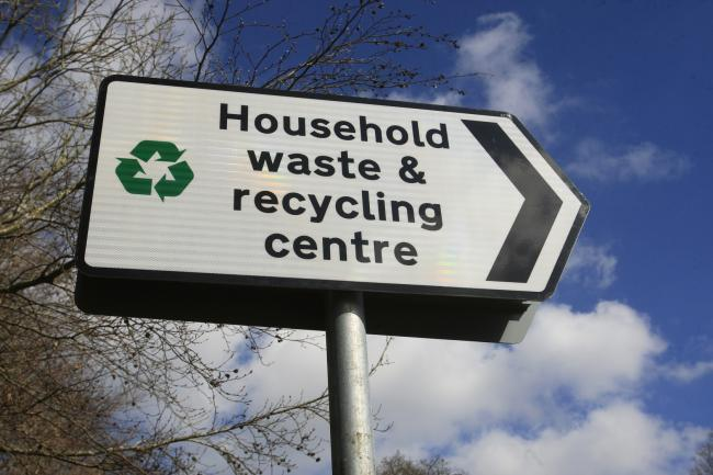 30.7 per cent of household waste was recycled in Reading in 2017/18, almost 20 per cent below the UK's 50 per cent target.