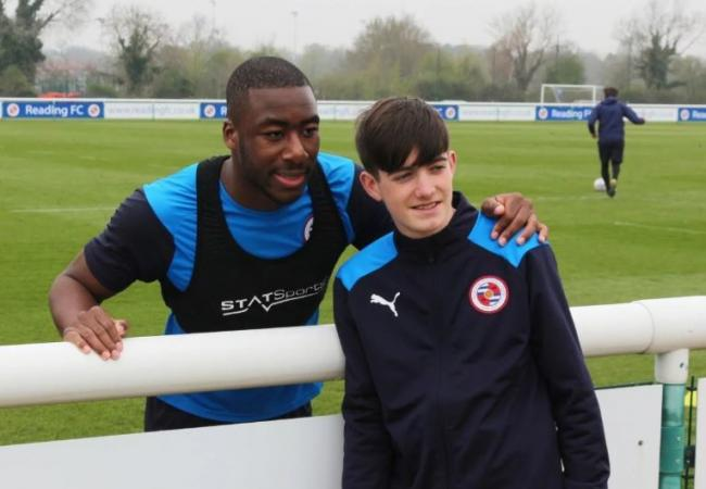 The current ballperson squad went to Hogwood to spend time with players